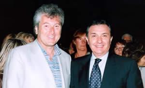 Vittorio Missoni con il Direttore Fernando Burgo