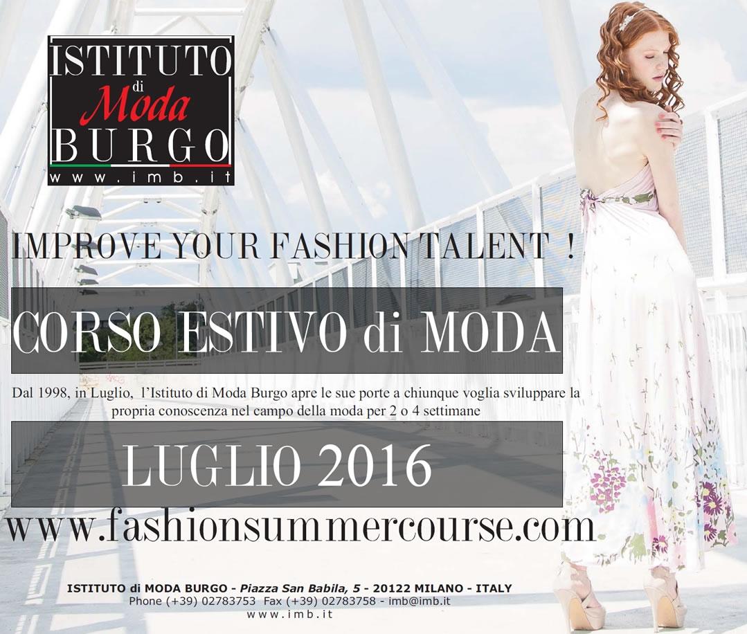 info for 19e51 b828e XVIII EDITION FASHION SUMMER COURSE Istituto di Moda Burgo ...