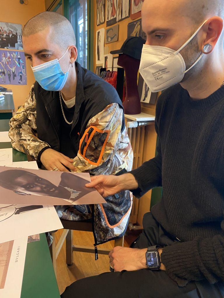 Italo Pantano e Luca Cantarelli